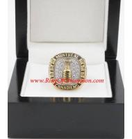 1955 - 1956 Montreal Canadiens Stanley Cup Championship Ring, Custom Montreal Canadiens Champions Ring