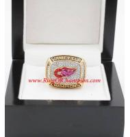 1997 - 1998 Detroit Red Wings Stanley Cup Championship Ring, Custom Detroit Red Wings Champions Ring