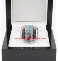 2003 - 2004 Tampa Bay Lightning Stanley Cup Championship Ring, Custom Tampa Bay Lightning Champions Ring