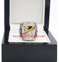 2006 - 2007 Anaheim Ducks Stanley Cup Championship Ring, Custom Anaheim Ducks Champions Ring