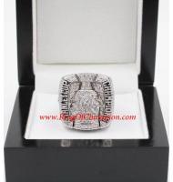 2009 - 2010 Chicago Blackhawks Stanley Cup Championship Ring, Custom Chicago Blackhawks Champions Ring