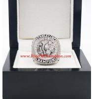 2014 - 2015 Chicago Blackhawks Stanley Cup Championship Ring, Custom Chicago Blackhawks Champions Ring